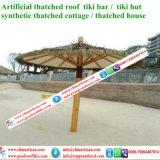 Chaume synthétique de paume normale de regard pour la barre de Tiki/parapluie de plage couvert de chaume synthétique de pavillon de l'eau de maison hutte de Tiki 11