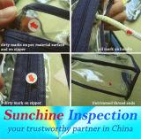 Il servizio di controllo di qualità del sacchetto di imballaggio di plastica/assicura la conformità prima della spedizione