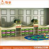 China-Hersteller-Vorschulmöbel-ursprünglicher hölzerner Tisch und Stuhl für Kinder