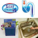 Saniの棒のパックの臭気の下水管の棒は明確な洗剤のDeodorizerのクリーニングのツールのSaniの棒の管の除去の棒の下水道のクリーニング棒洗面所の台所浴室を流出させる