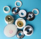 Obiettivo di protezione del supporto di ceramica dell'ugello del laser di Highyag e del coperchio di vetro