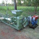 Blocchetto semiautomatico diesel dell'argilla che fa l'espulsore rosso della terra calcinato macchina