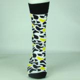 Носки хлопка изготовленный на заказ счастливой оптовой продажи большого части носок дешевые