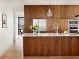 2018 de Nieuwe Moderne Keukenkasten van de Douane van het Kabinet van de Voorraadkast van de Keuken Stevige Houten