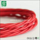 Colshine переплело силовой кабель шнура питания кабеля ткани для привесных светов