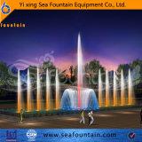 Нержавеющий цветастый большой прямой фонтан воды