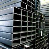 Schwarzes lackierte quadratische und rechteckige Stahlrohre