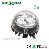 luz de aluminio de fundición a presión a troquel del PUNTO de 3W LED (YYST-DGYKS5)