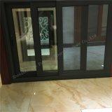 Kundenspezifisches Metallprofil-Doppeltes glasig-glänzendes schiebendes Aluminiumfenster