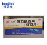 Conjunto rápido del rectángulo del cartón de la marca del número de serie de la fecha de vencimiento de la impresora del laser del CO2 de Leadjet