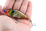 8cm 11,8g corps dur peinte à la pêche Lure Vib appât en plastique