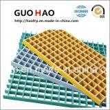 Fábrica de China en el exterior del panel de la pasarela de plástico GRP