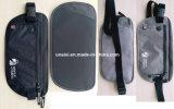 屋外にのための反盗難RFID旅行お金ベルトのウエスト袋