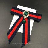 As mulheres Broches Pins Corsage pano de lona Broche Bowknot Cintas de Bow tie vestido de acessórios (BR-25)
