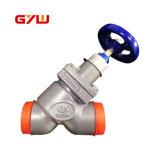 China Hvacr tipo Y Parar a válvula de retenção e uso em amoníaco/Sistema de fréon com alta qualidade