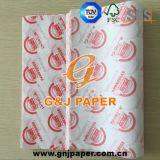Gute Qualitätsgedrucktes Butterbrotpapier für die Nahrungsmittelverpackung