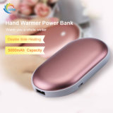 Melhor qualidade de 5000mAh aquecedor portátil Banco de Potência