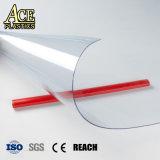 Plastique souple PVC Super clair en rouleaux de film transparent