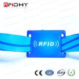 Braccialetto professionale del tessuto RFID di festival con il chip di Ntag 216