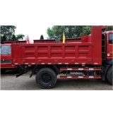 Luz Sinotruk caminhão basculante com 4X2 do lado do tipo de condução Gire a caixa de carga