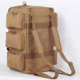 La capacidad grande 55L impermeabiliza el bolso del deporte de la tela de lana basta del recorrido con las correas de hombro