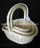 Плетеная корзина для проведения свадеб и Рождество