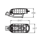 Batteria della bici di buona qualità 36V con la cassa di batteria del tubo della sede