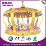 Parque Infantil exterior Carousel Merry Go Round Máquina de diversões para crianças