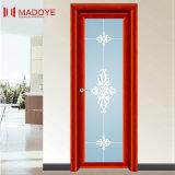 Puerta superventas del cuarto de baño de la buena calidad con la reja decorativa