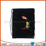 Logo personnalisé imprimé coloré coulisse sac cadeau en tissu pour la promotion