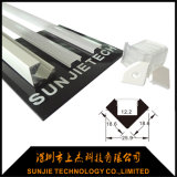 Espulsione solida della barra chiara dell'alluminio LED per l'angolo del Governo montato