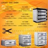 価格のための最もよい効率のパン屋装置の倍のデッキのガスオーブン