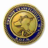 Médaille personnalisée en métal de sport d'en cuivre d'argent d'or de sport d'émail
