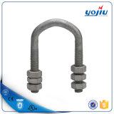De canalisation électrique boulon en U en acier galvanisé d'IMMERSION chaude de raccord avec la noix