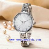 Relojes personalizados de Acero Inoxidable Ver Reloj de dama (WY-G17001B)