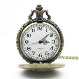 جديدة وصول برونز [ستمبونك] جمجمة أحد قطعة جيب ساعة