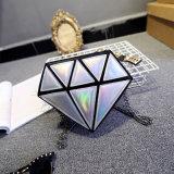 Het nieuwe Koreaanse Wijfje van het Getijde van de Persoonlijkheid van de Laser van de Diamant van de Zak van de Schouder van de Manier Toevallige indien Vrouwelijke Verbindende Hellende Zakken