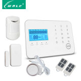 LCD Display Home Security Alarm Wireless Systems with GSM/PSTN Function