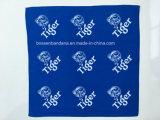 Продукция фабрики Китая подгоняла стороны логоса 2 напечатала голубой Bandana Headwear хлопка