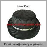 卸し売り安い中国軍ポリエステル軍隊の警察の働く制帽
