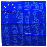 I prodotti della fabbrica della Cina hanno personalizzato i lati di marchio due hanno stampato il Bandana blu di Headwear del cotone