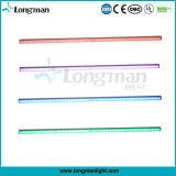 옥외 방수 48*0.2W RGB LED 단계 세척 LED 바 빛