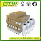 Высокое качество 58GSM Быстросохнущие Сублимация бумаги в размер рулона