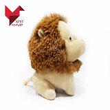 축제 일 선물 앉는 사자 견면 벨벳 동물성 주문 장난감