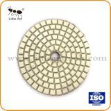 Diamant blanc souples en résine Égrainage humide des plaquettes pour Pierre, béton