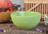 Un insieme domestico della decorazione di colore quattro che lustra i contenitori di ceramica per la fabbricazione della candela