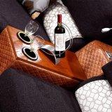 Mobilia sezionale del sofà del cuoio genuino di disegno moderno - Fb1140