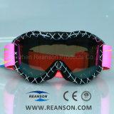 Fabricante de doble lente profesional de la prueba de la UE Anti-Fog gafas de esquí