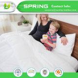 防水単一のマットレスの保護装置カバーによって合われるシートのベッドのビニールのベッドのWetting