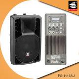 15 Spreker pS-1115au van de FM van de duim USB BR de Plastic Actieve 200W